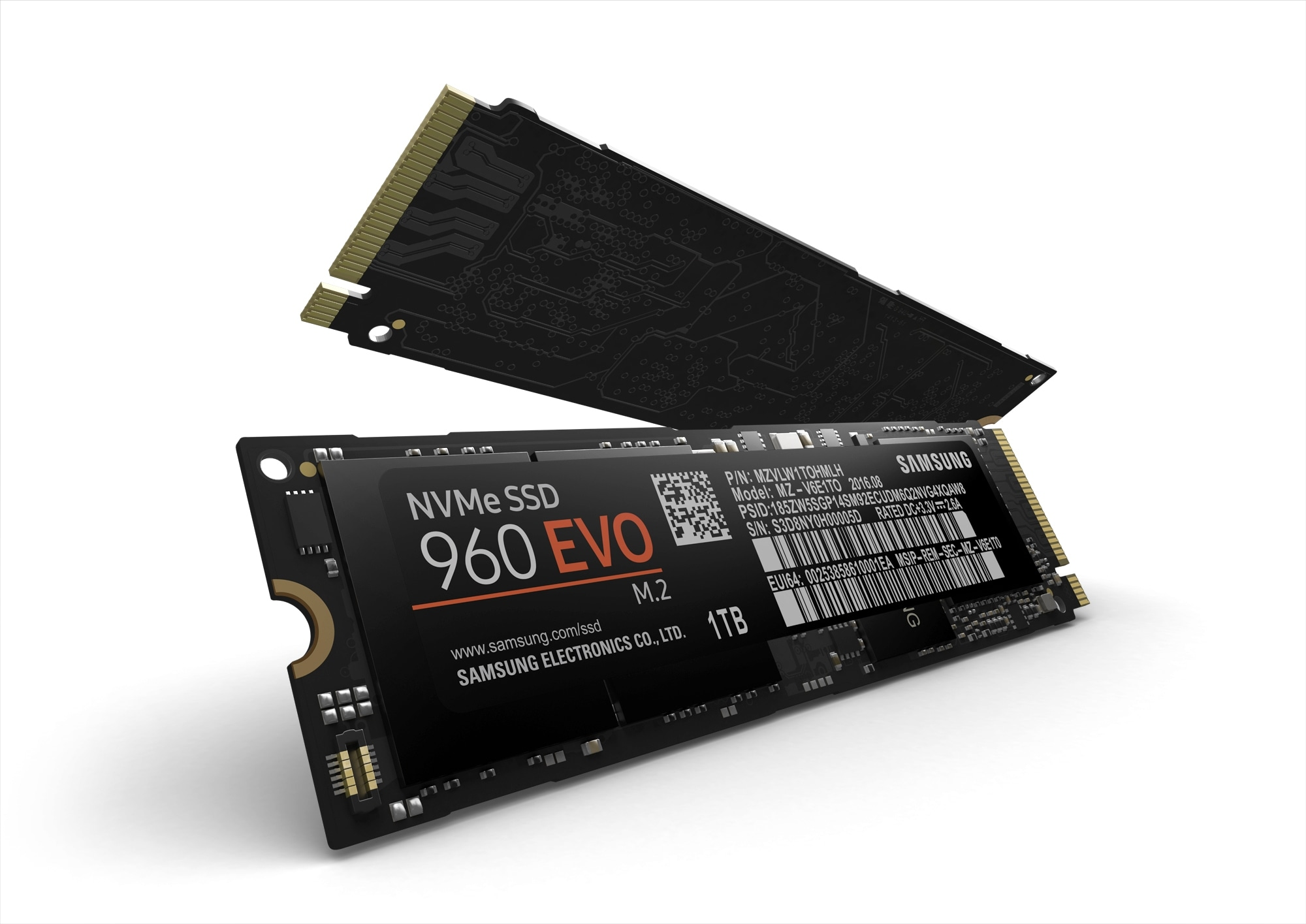 Samsung Semiconductor Memory Business Overview, NAND Flash, Samsung NVMe SSD 960 EVO