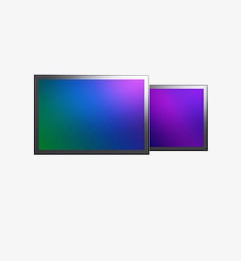 Mobile Image Sensor front and back.