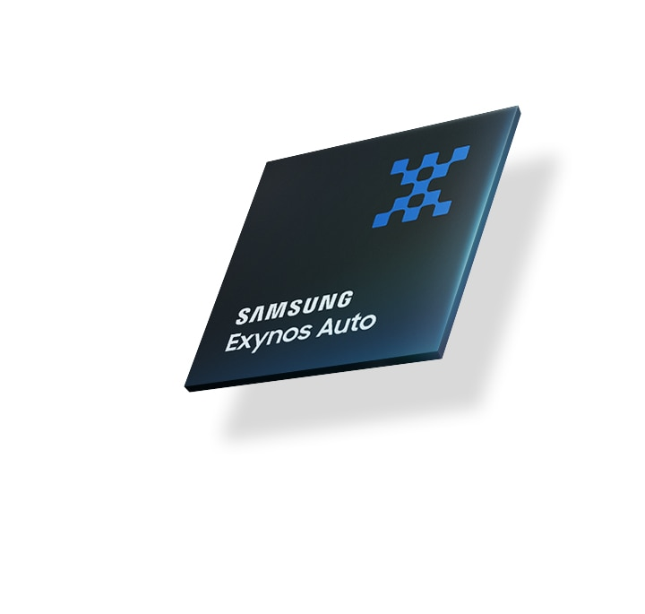 An illustrative image of Samsung Exynos Auto.