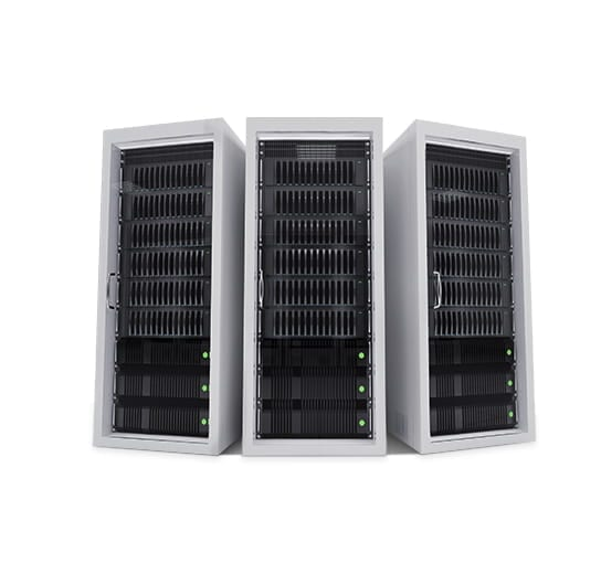 An image of next-generation servers.