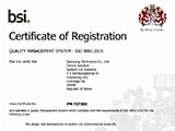 System LSI's bsi Certifate of Registration image