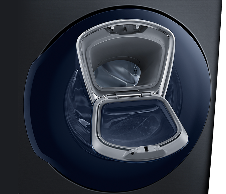 Open the innovative AddWash™ door to quickly drop in anything extra during the wash.
