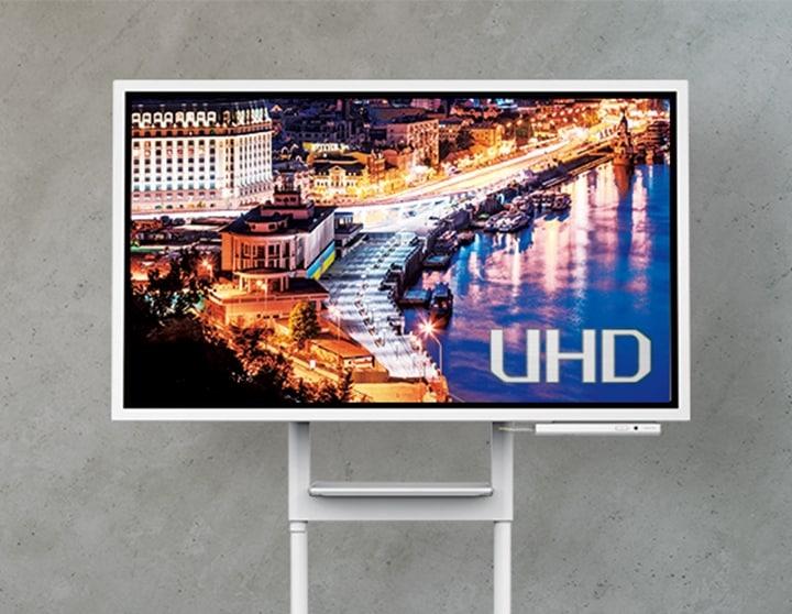 "Samsung Flip 55"" UHD touch display"