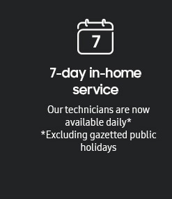 7-day in-home service