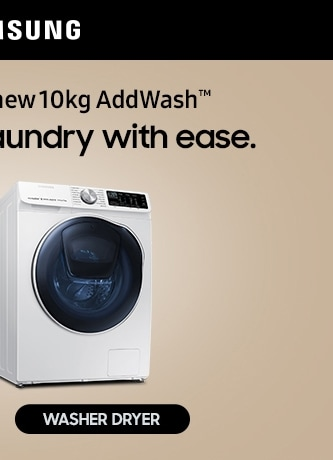 Tackle bigger laundry with ease