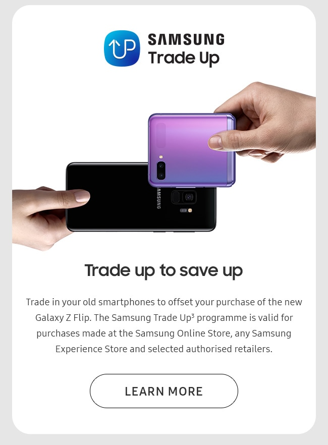 Trade up to save up
