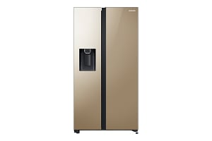 SpaceMax Side by Side Refrigerator