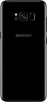 Galaxy S8 in Midnight Black