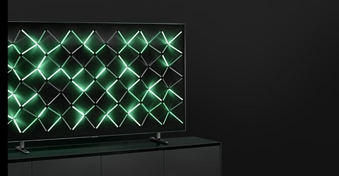 A 2019 QLED TV on Magic Screen