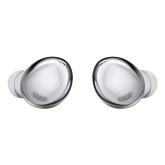 galaxy buds pro silver front and back