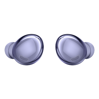 galaxy buds pro violet front and back
