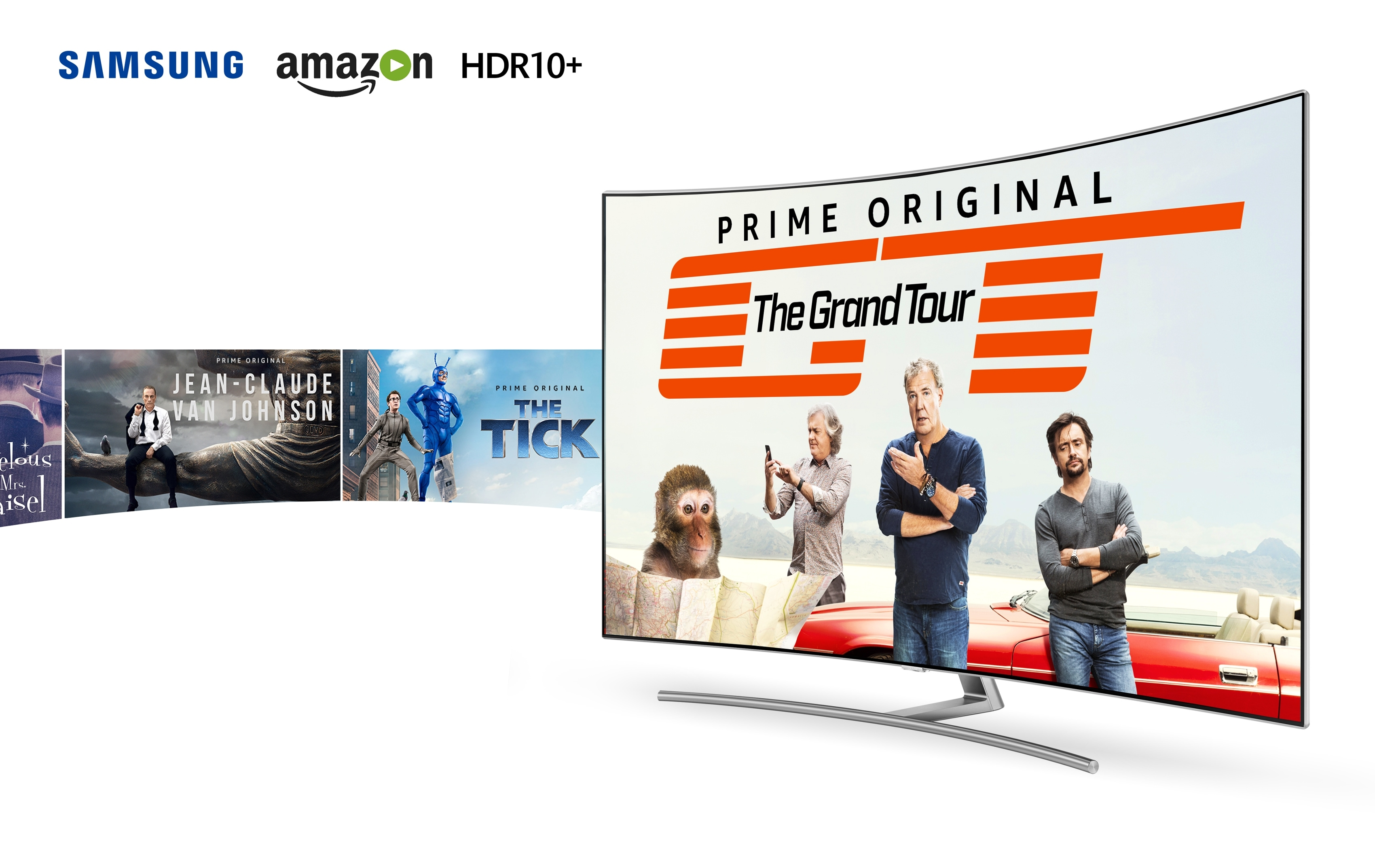 Samsung in Amazon Prime video