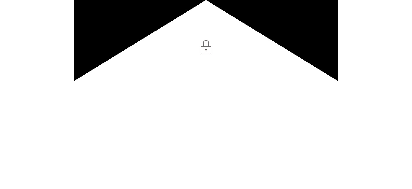 White with lock icon