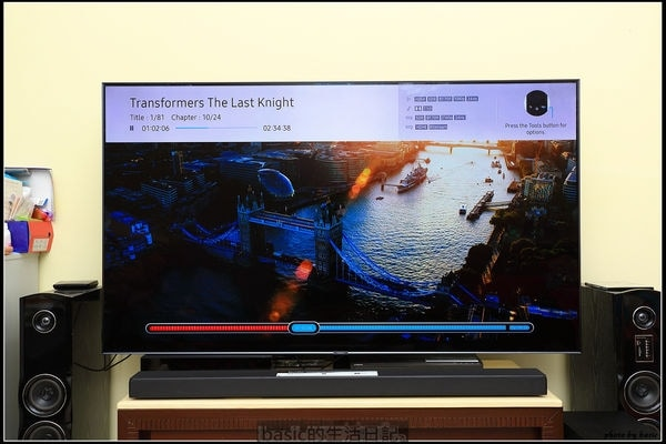Samsung QLED TV Review by Blogger Basic