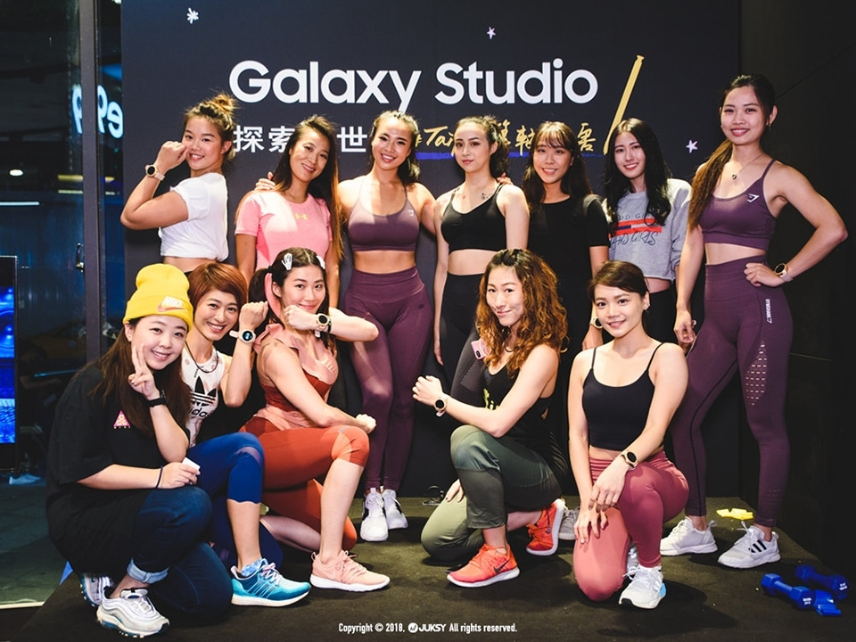 Samsung Galaxy Watch 女力星健身 成功!!