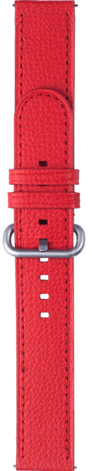 essence type red color strap