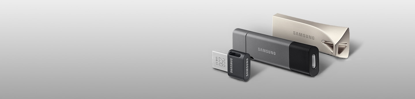 Samsung USB Flash Drives - BAR Plus, DUO Plus & FIT Plus USB Flash Drives