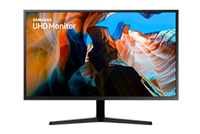 High resolution monitor LU32J590UQUXEN front facing