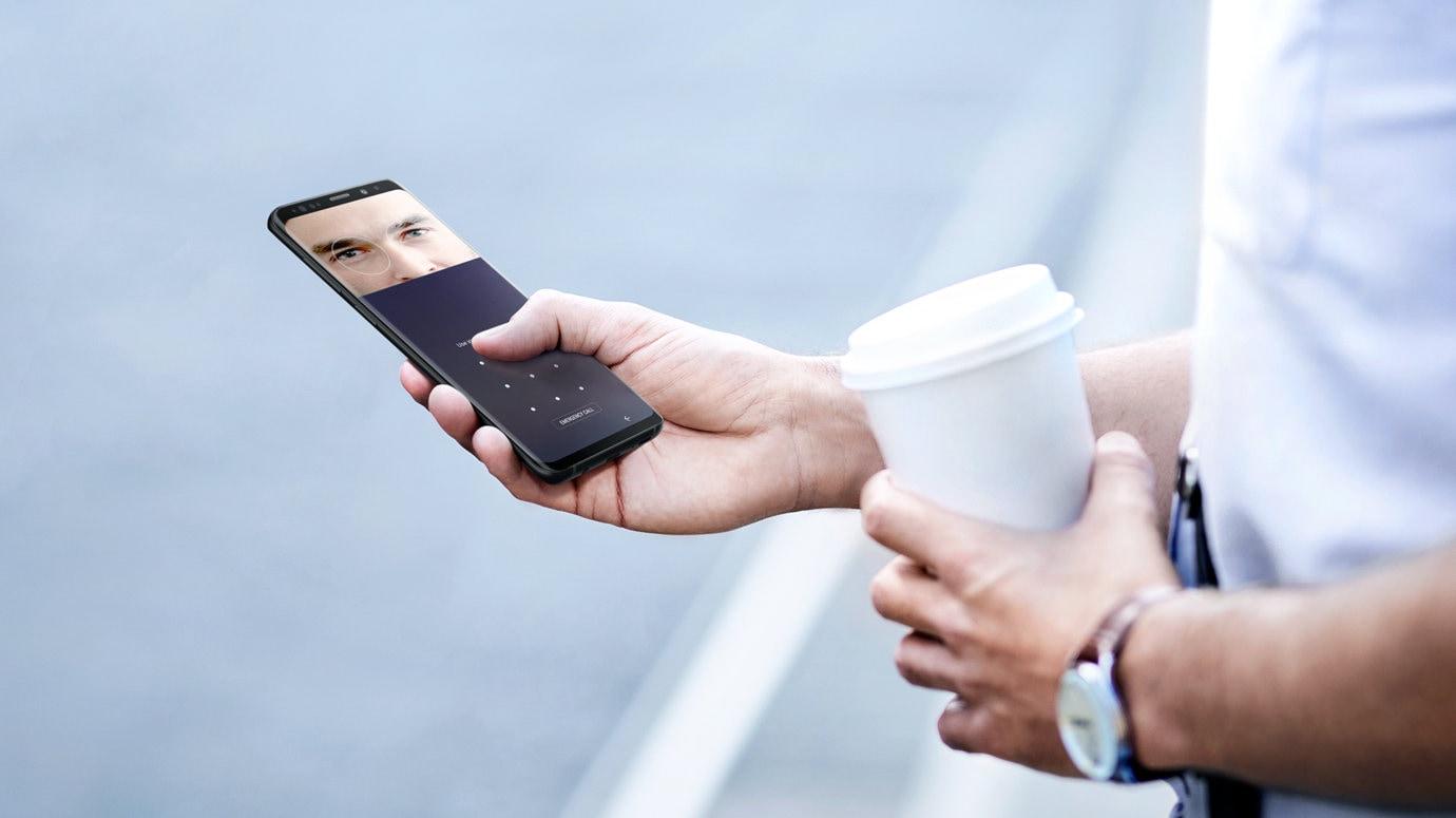 Samsung galaxy s9 s9 samsung professionnels fr for Lecteur biometrique exterieur