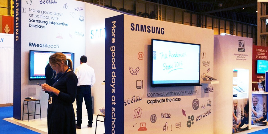 Samsung Delivers a Lesson in Captivating the Classroom at The Academies Show in Birmingham