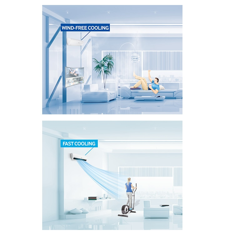 Samsung Air Conditioner Climate Air Care Wind-Free™