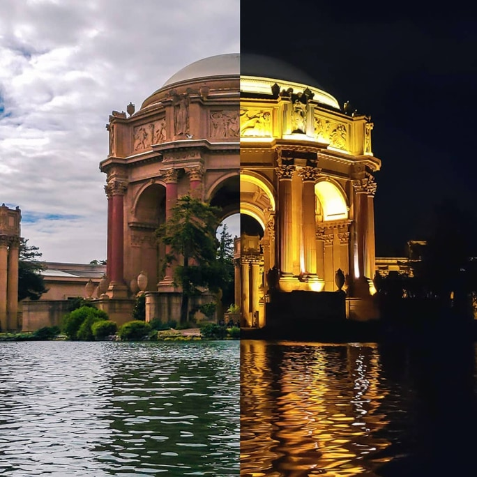 Palace of Fine Arts, San Francisco, Kalifornien, USA