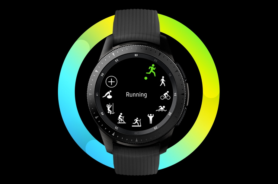 Primer plano de Samsung Galaxy Watch