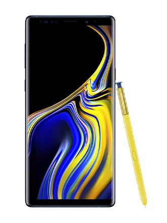 The Samsung Galaxy Note9 and S Pen