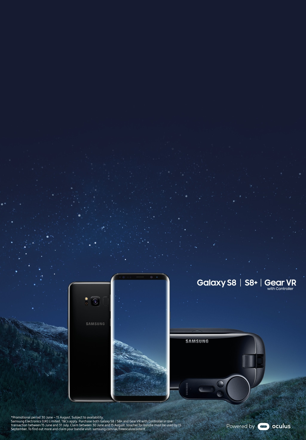 f15e8ca5e2d Claim an Oculus bundle when you buy a Galaxy S8 S8+ and Gear VR