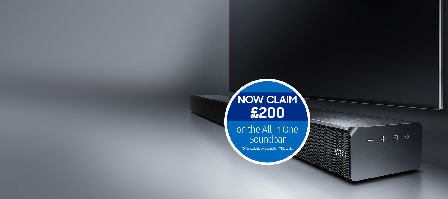 Claim £200 when you buy an All in One Soundbar with any UHD TV ...