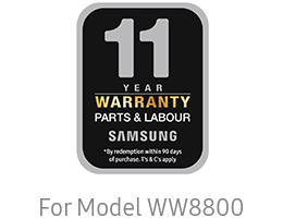 Samsung 5 years warranty