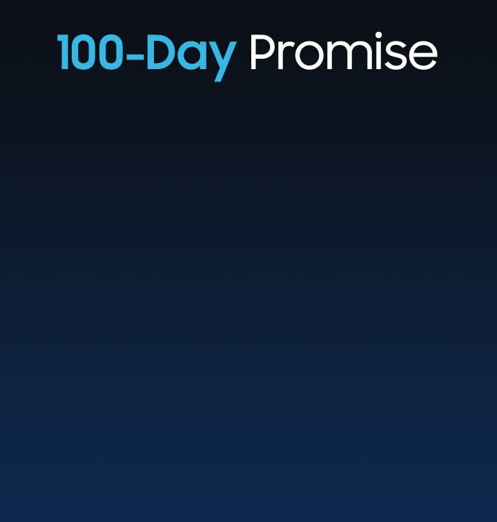 100-Day Promise