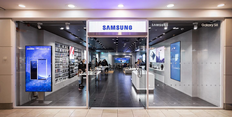 Resultado de imagem para Samsung US stores