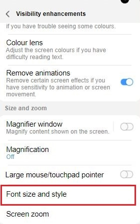 What are the accessibility settings and how do I use them?