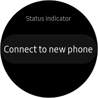 Scroll down to Connect to new phone