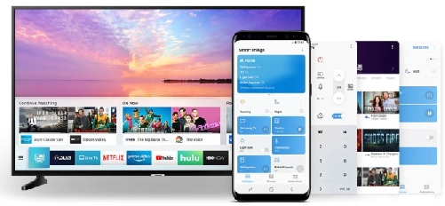 How to open the screen mirroring connection on your Samsung smartphone or tablet, and on your Samsung TV