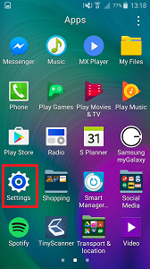 How can I back up contacts from my Samsung Galaxy device to