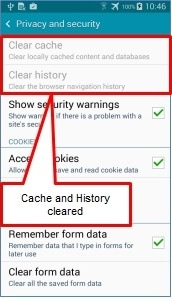 how do i clear my cache on my iphone how do i clear the cache on my galaxy a5 samsung support uk 1529