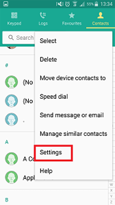 How do I copy contacts between my phone, SIM Card or SD card