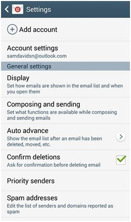 How do I edit the Microsoft Exchange ActiveSync email settings on my Samsung Galaxy Note3?
