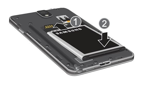 How do I insert a SIM Card into my Samsung Galaxy Note 3?