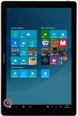 How do I install or delete an app on my Samsung Galaxy Tab Pro S?