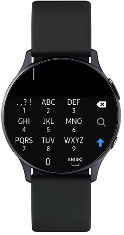 Search for Camera Controller in Galaxy Store on Galaxy Watch Active2
