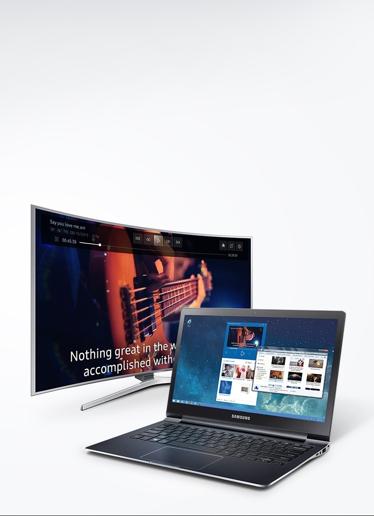 stream movies from pc to samsung tv