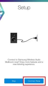 Setting up Samsung Multiroom speakers using the Multiroom App