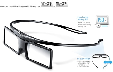 Which 3D glasses will work with my Samsung 3D home theatre system?