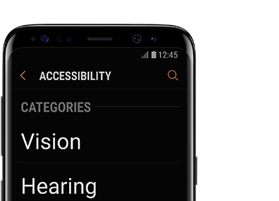Galaxy Mobile Accessibility