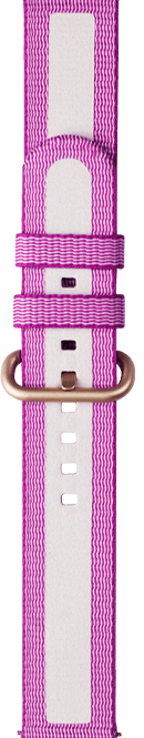 active textile type purple color strap