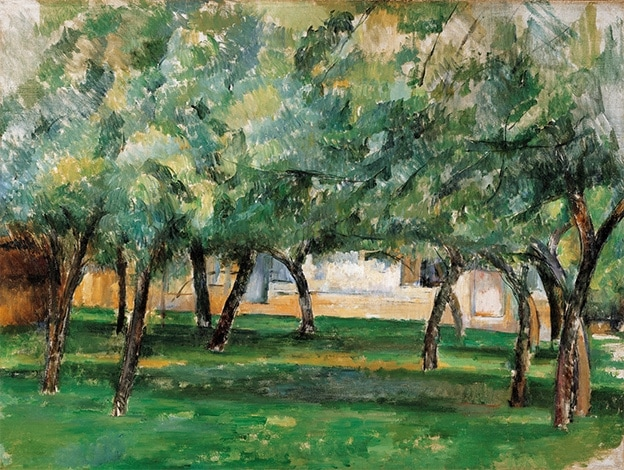 Paul Cézanne Farm in Normandy (c. 1885-86)