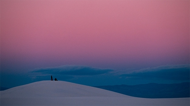 Thomas Hoepker White Sands, New Mexico (1990)